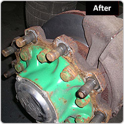 Truck Brake Disk After Skimming