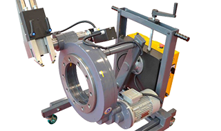 On-truck Brake Lathes