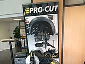 Pro-Cut exhibiting at French auto-workshop trade show